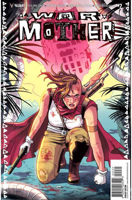 War Mother #2 Cover C- Ganucheau Variant [Valiant Comic]