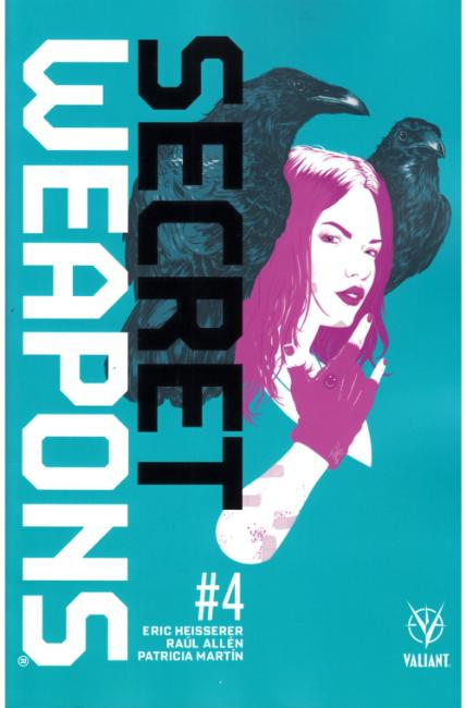 Secret Weapons #4 Cover A [Valiant Comic] THUMBNAIL