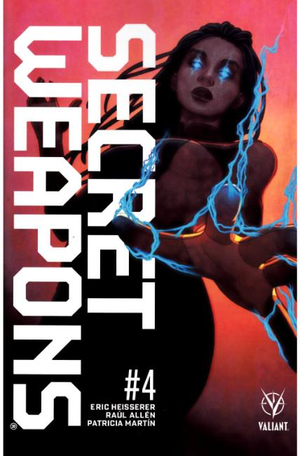 Secret Weapons #4 Cover B [Valiant Comic] THUMBNAIL