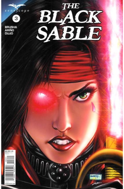 Black Sable #3 Cover A [Zenescope Comic] THUMBNAIL