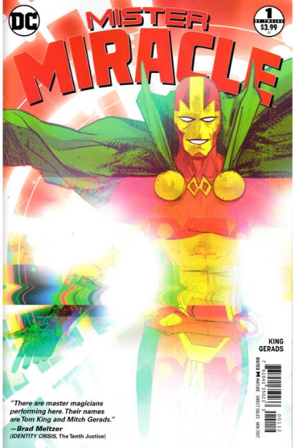 Mister Miracle #1 Second Printing [DC Comic] THUMBNAIL