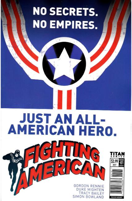 Fighting American #1 Cover F [Titan Comic]