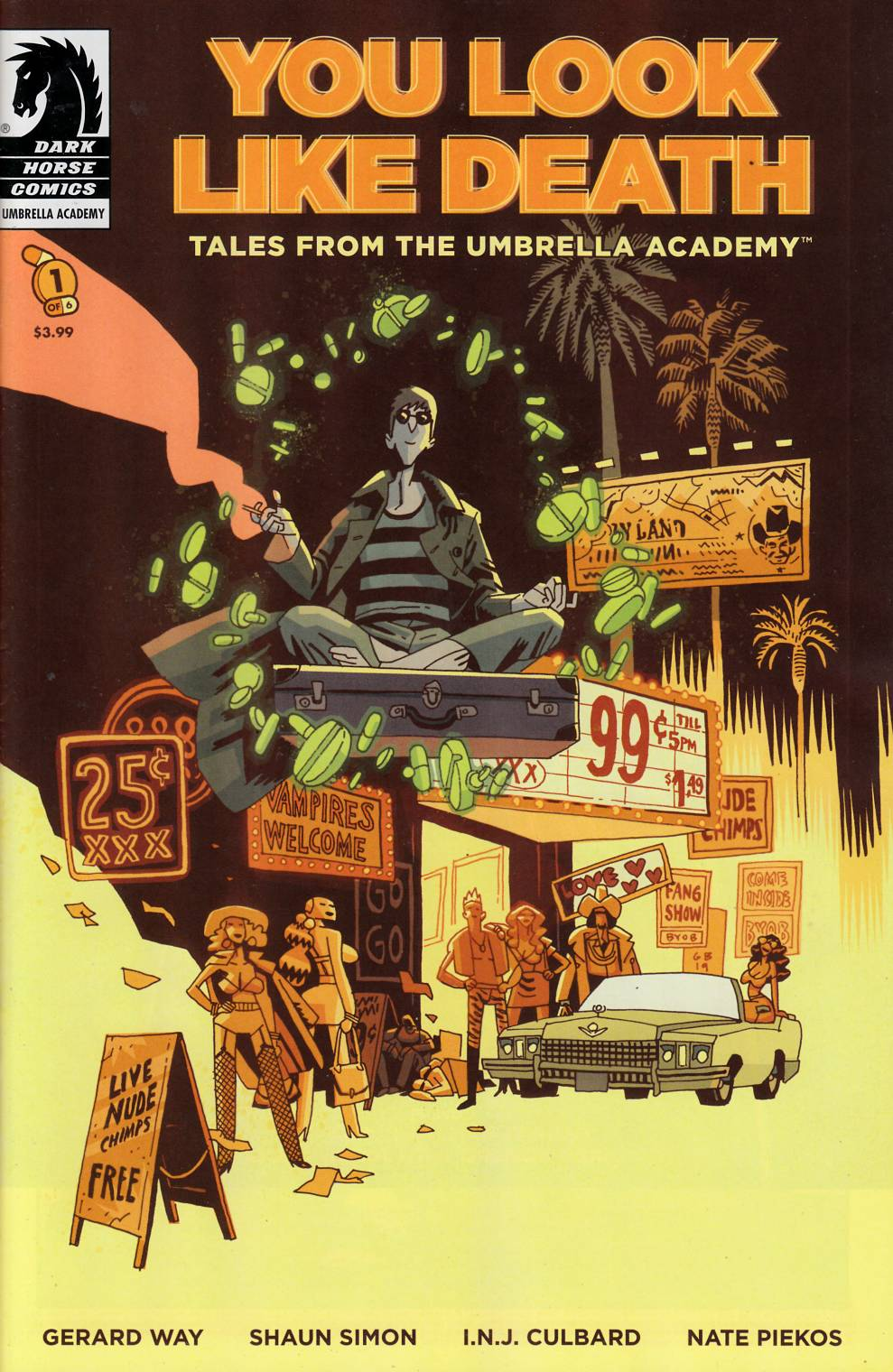 You Look Like Death Tales From the Umbrella Academy #1 Near Mint (9.4) [Dark Horse Comic] THUMBNAIL