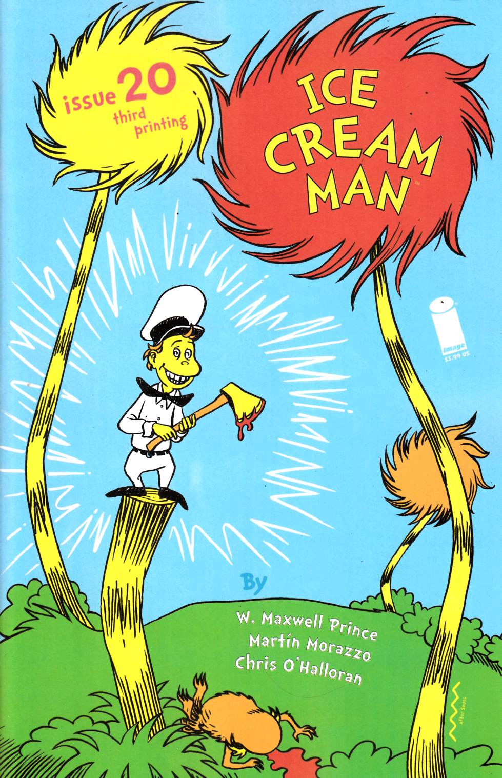 Ice Cream Man #20 Third Printing Near Mint (9.4) [Image Comic] THUMBNAIL