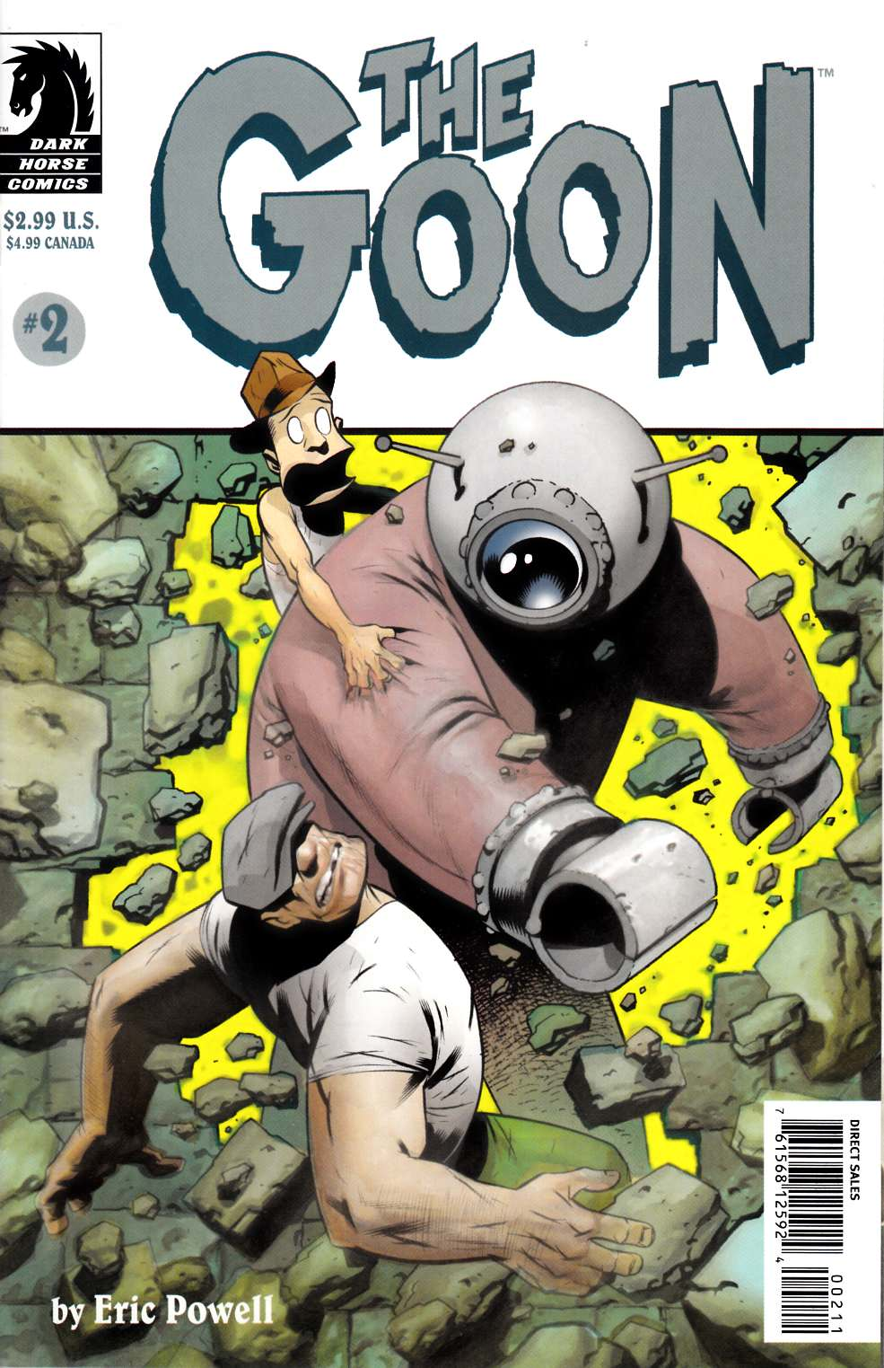 Goon #2 Near Mint (9.4) [Dark Horse Comic] THUMBNAIL