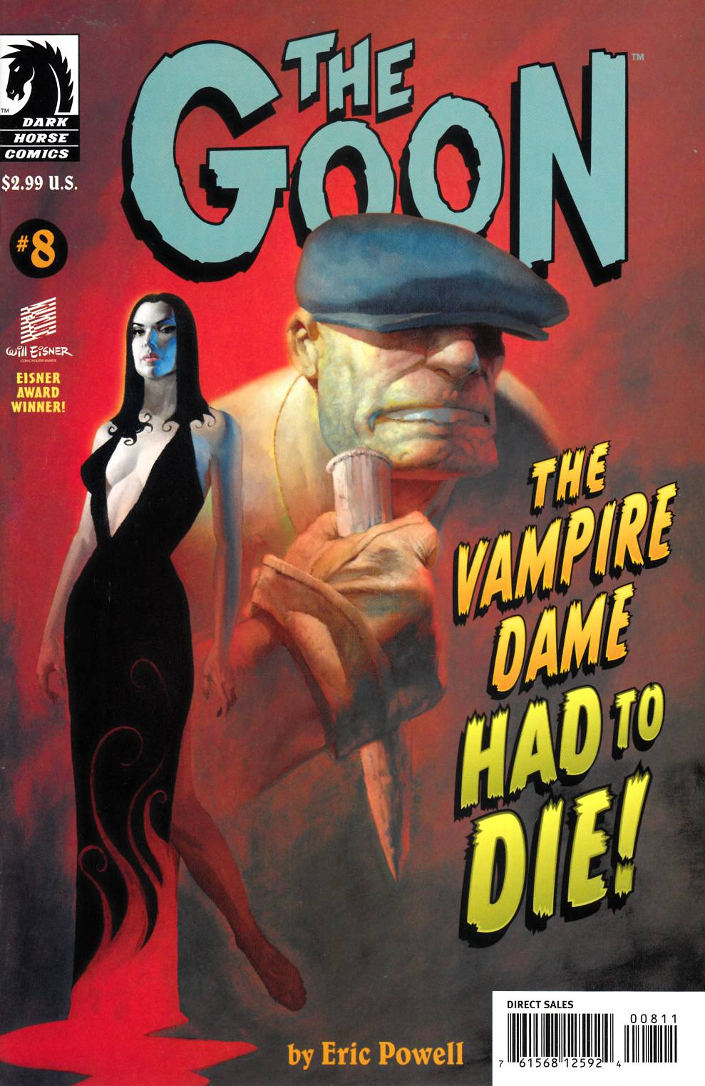Goon #8 Near Mint (9.4) [Dark Horse Comic] THUMBNAIL