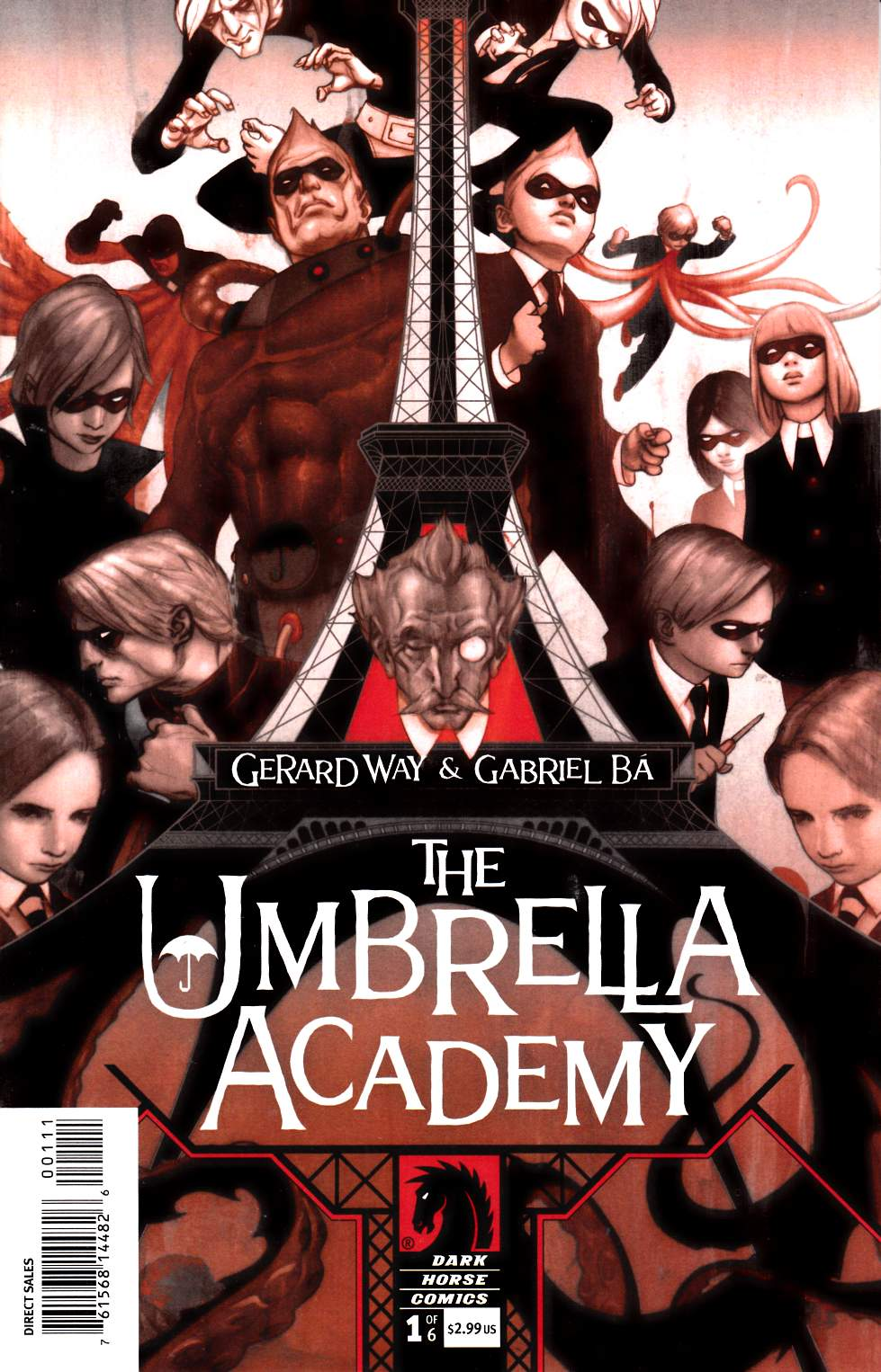 Umbrella Academy Apocalypse Suite #1 [Dark Horse Comic]