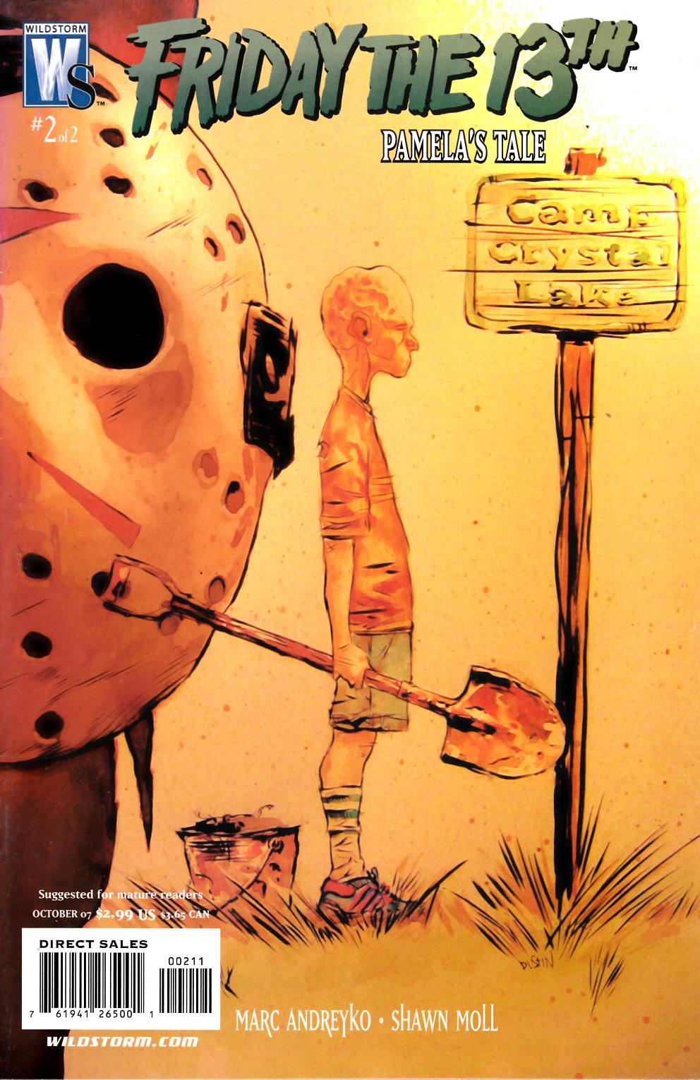 Friday the 13th Pamelas Tale #2 Very Fine (6.0) [DC Comic] THUMBNAIL