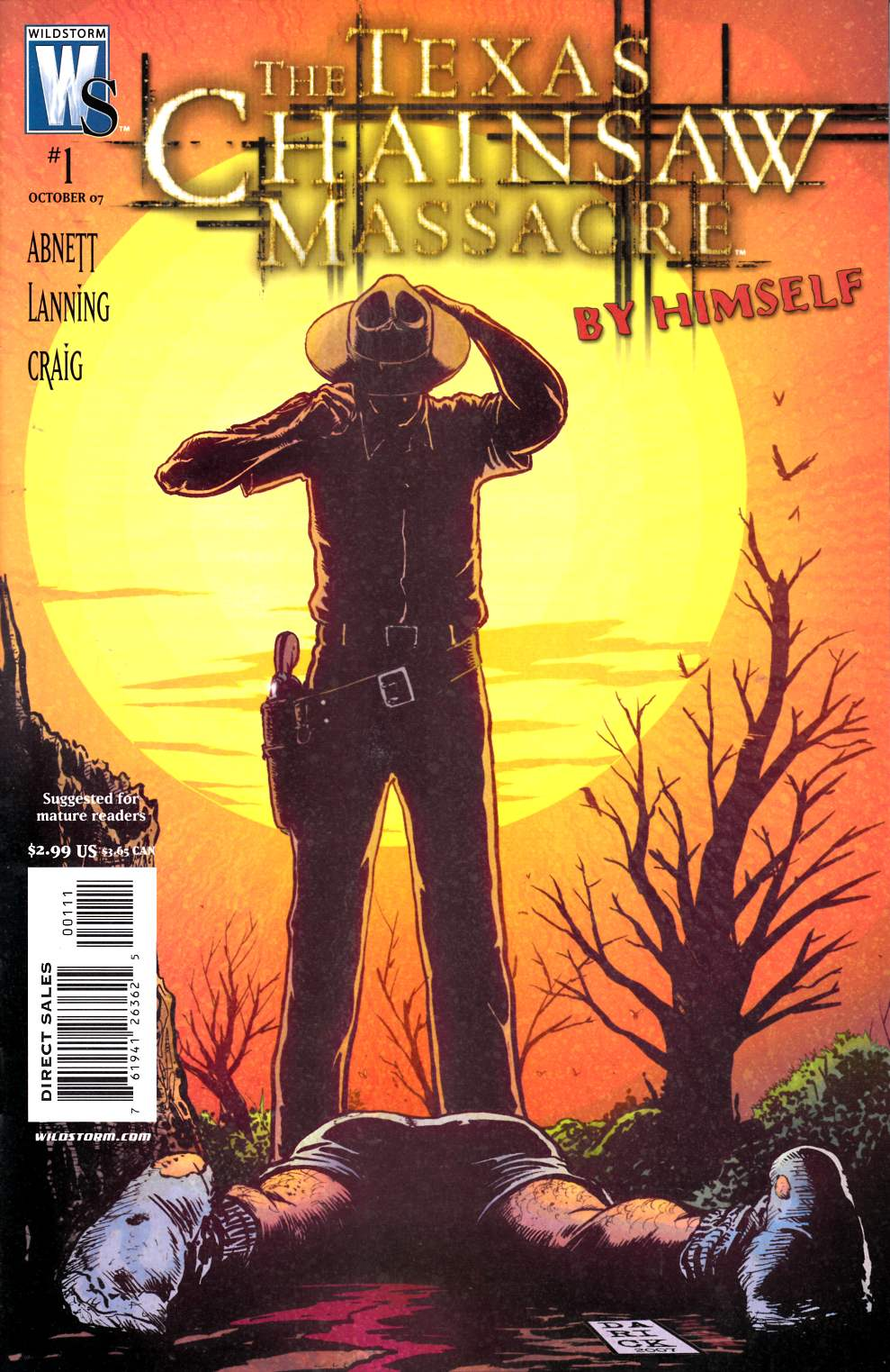 Texas Chainsaw Massacre By Himself #1 [DC Comic]_THUMBNAIL