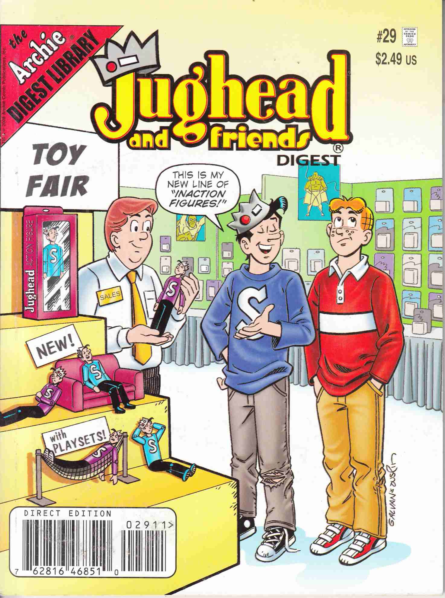 Jughead and Friends Digest #29 Near Mint Minus (9.2) ([Archie Comic] THUMBNAIL