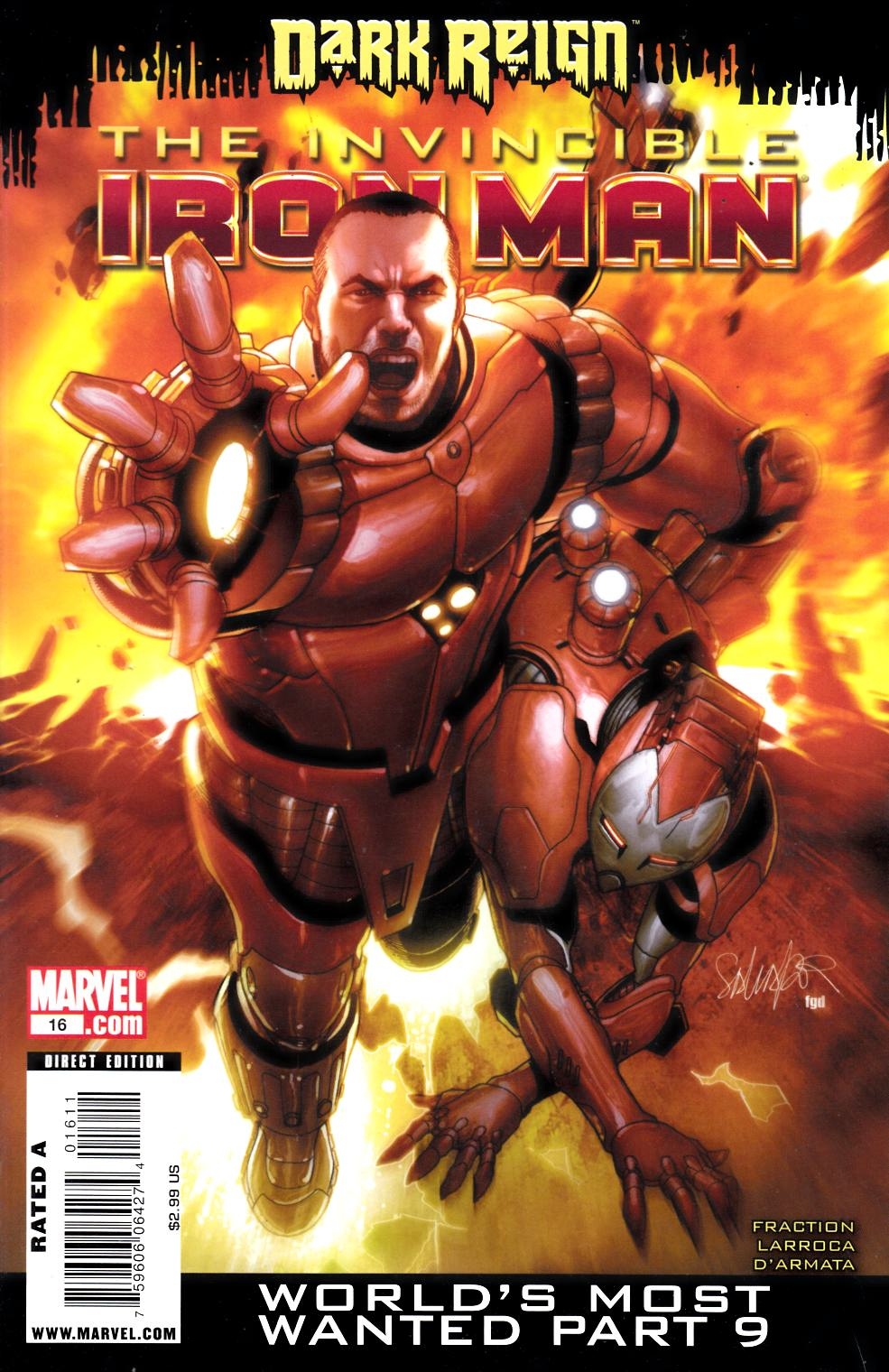 Invincible Iron Man #16 Very Fine (8.0) [Marvel Comic] LARGE