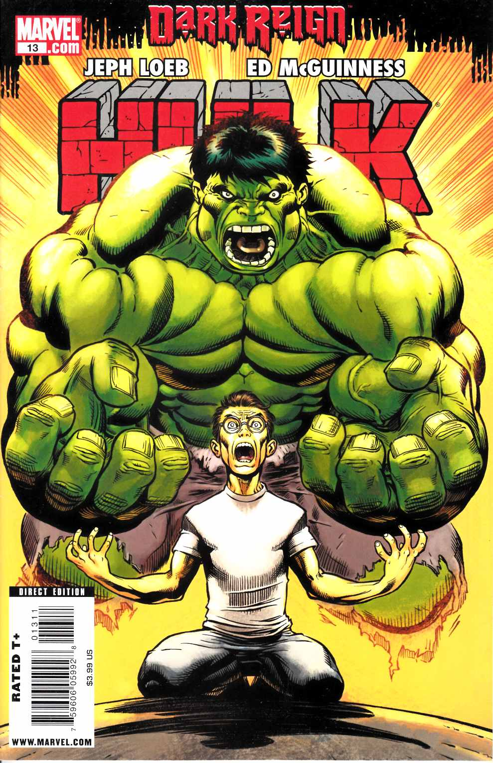 Hulk #13 Fine (6.0) [Marvel Comic]