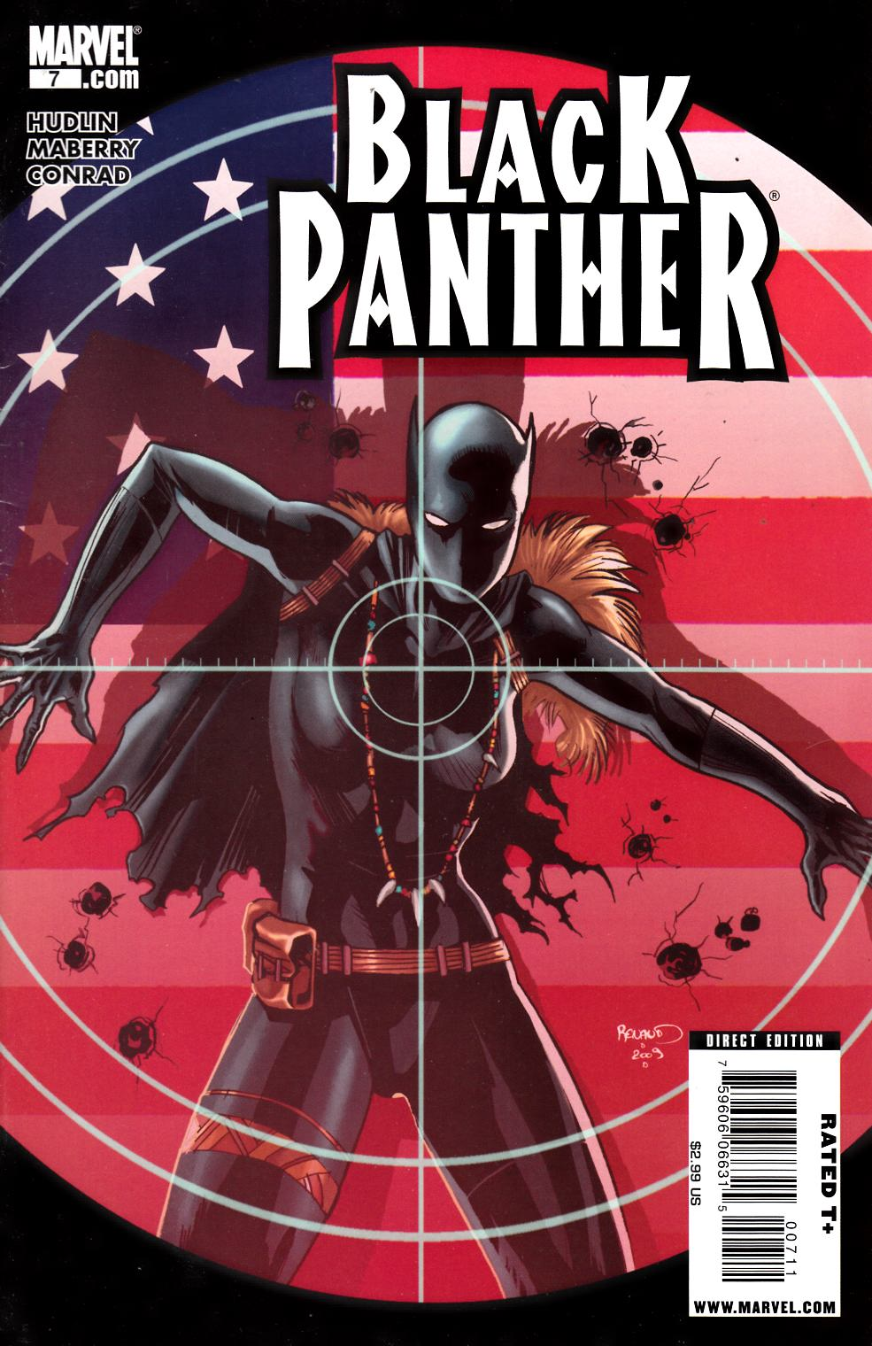 Black Panther #7 Fine (6.0) [Marvel Comic] THUMBNAIL