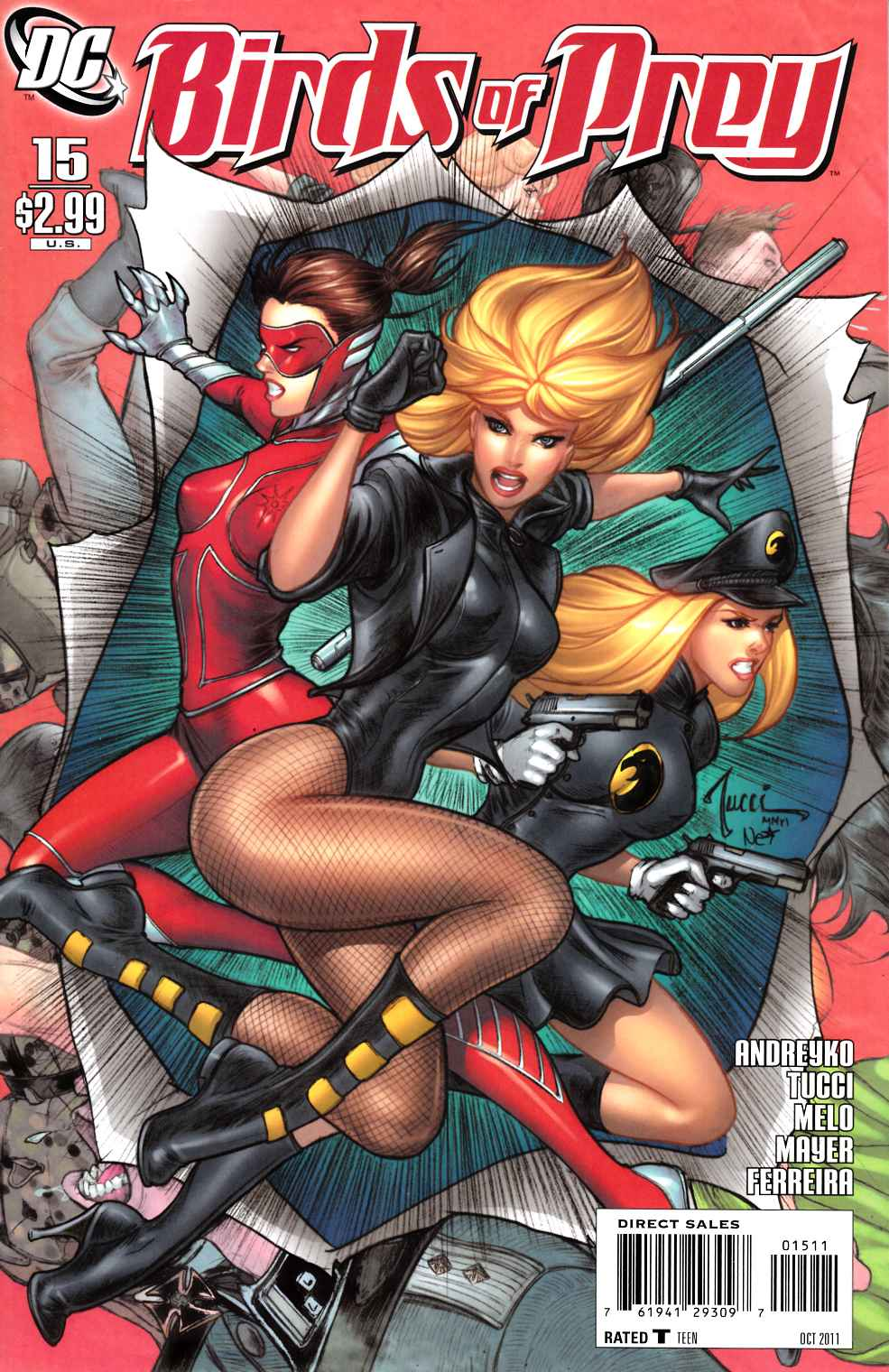 Birds of Prey #15 Near Mint (9.4) [DC Comic] THUMBNAIL