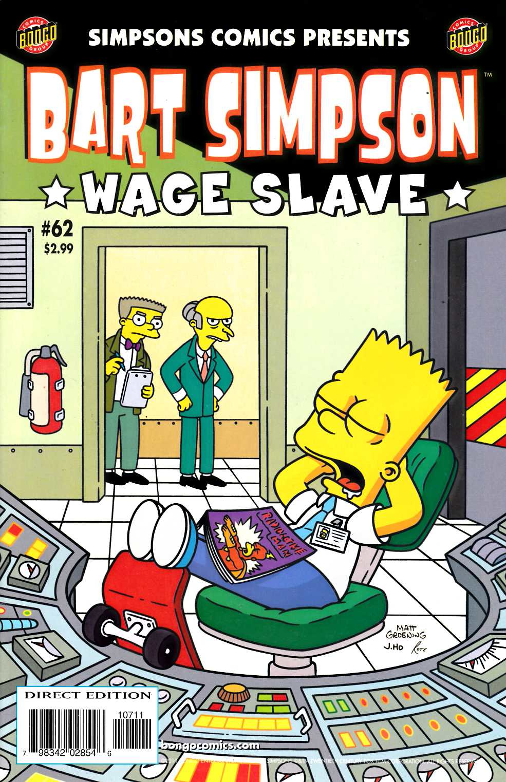 Bart Simpson Comics #62 Fine (6.0) [Bongo Comic]_THUMBNAIL