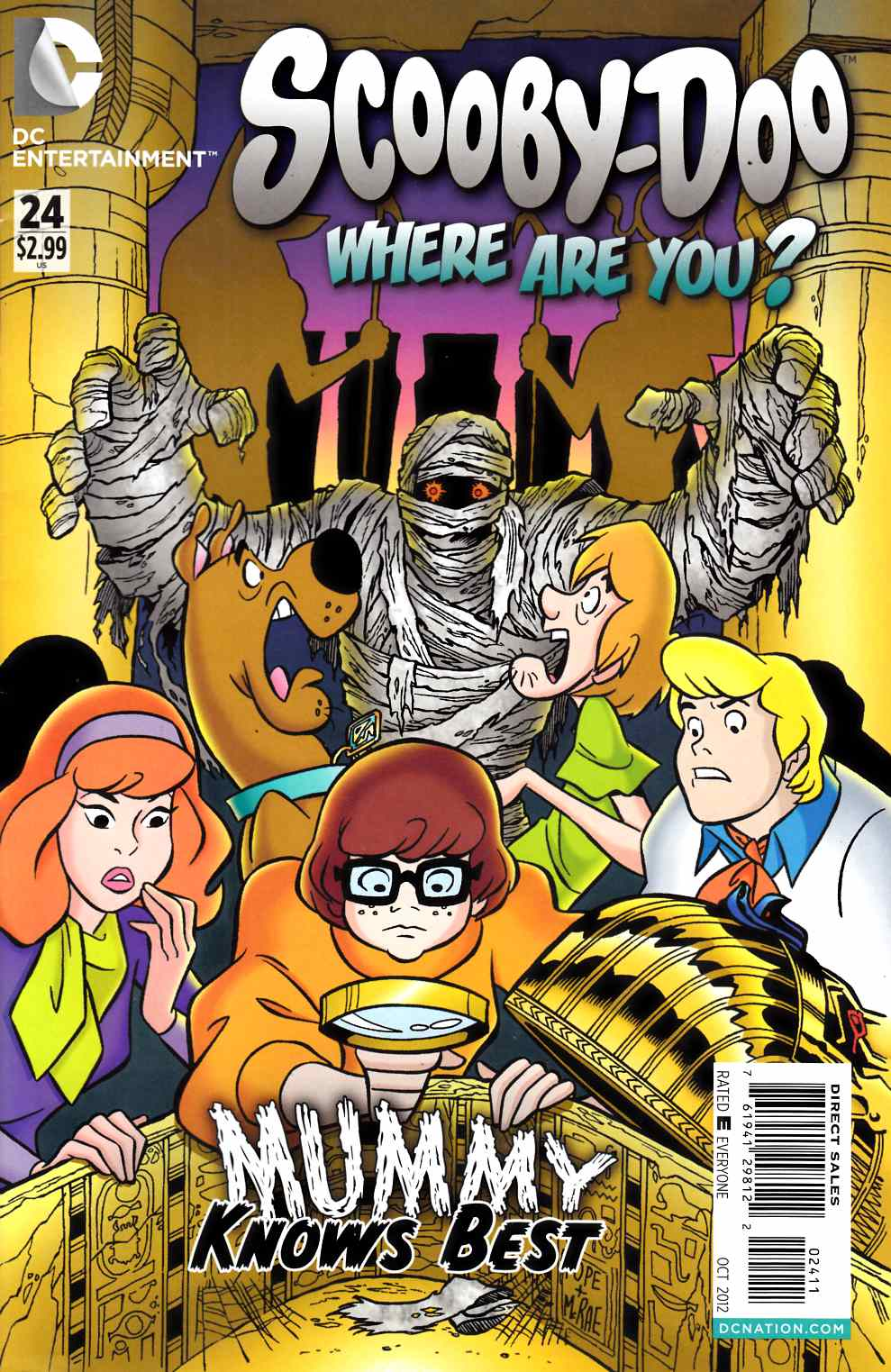 Scooby Doo Where Are You #24 Fine (6.0) [DC Comic] THUMBNAIL