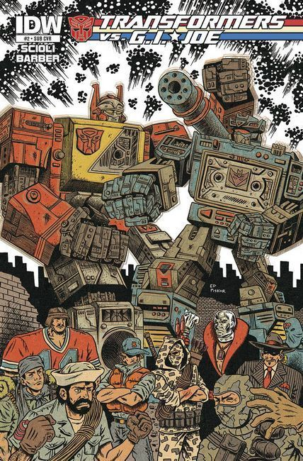 Transformers vs GI Joe #2 Subscription Cover [Comic] THUMBNAIL