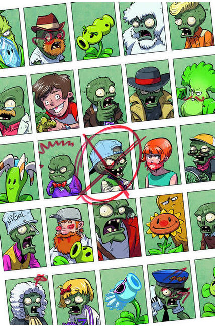 Plants Vs Zombies #3 Bully For You [Dark Horse Comic] THUMBNAIL