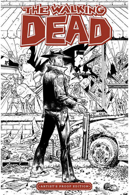 Image Giant Sized Artists Proof Edition Walking Dead #1 [Image Comic]