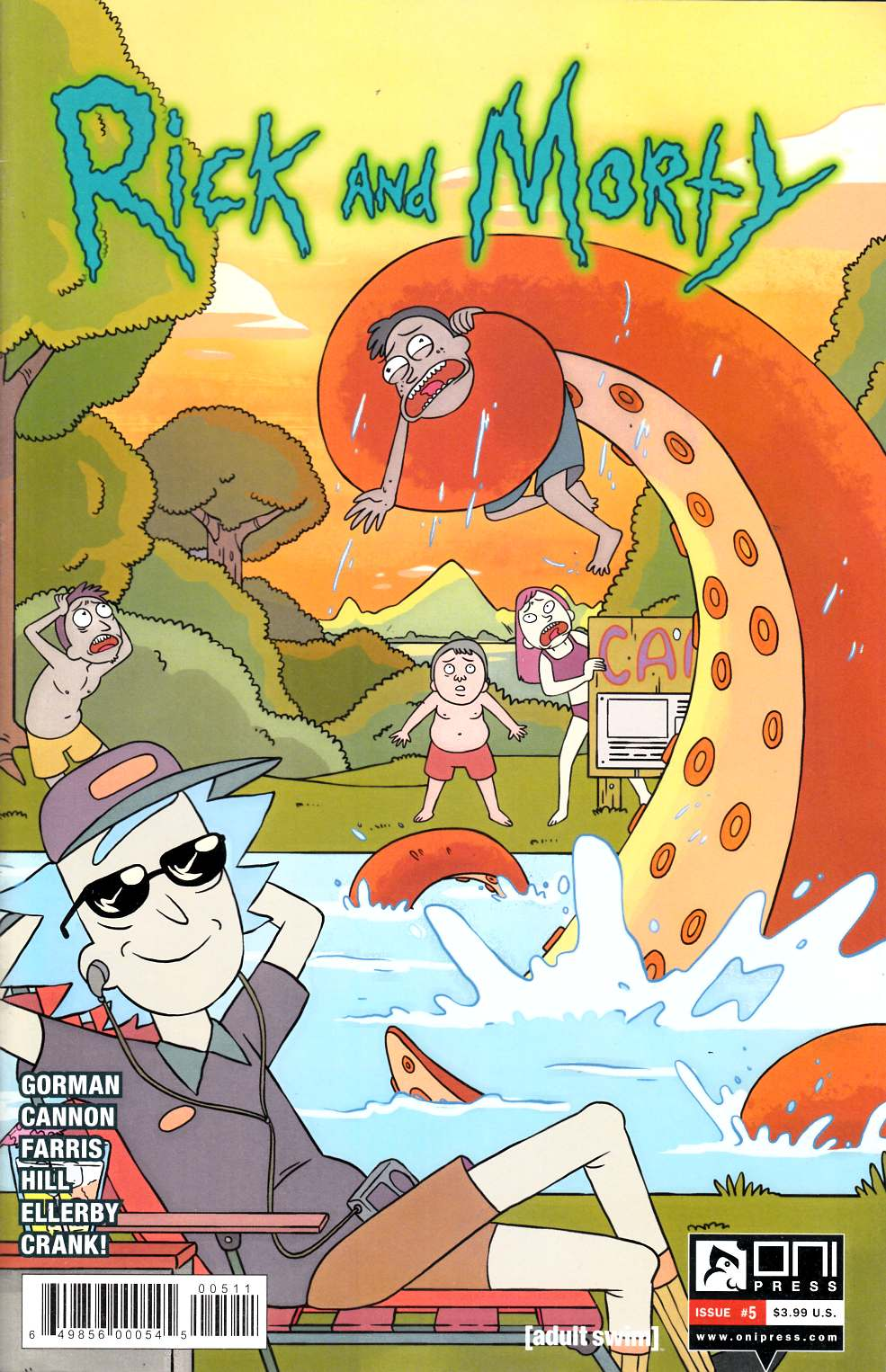 Rick & Morty #5 Very Fine Plus (8.5) [Oni Press Comic] LARGE