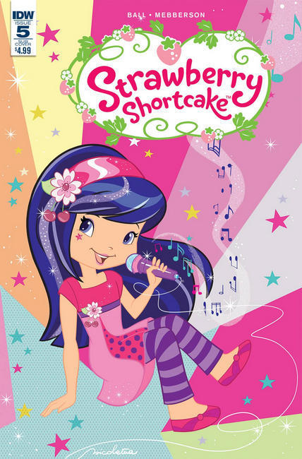 Strawberry Shortcake #5 Scented Variant Cover [IDW Comic] THUMBNAIL