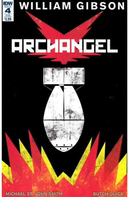 Archangel #4 Paperback Cover [IDW Comic] THUMBNAIL