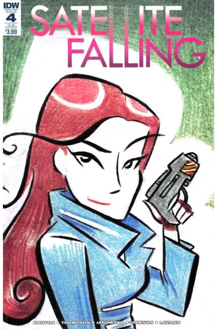 Satellite Falling #4 Subscription Cover [IDW Comic] THUMBNAIL