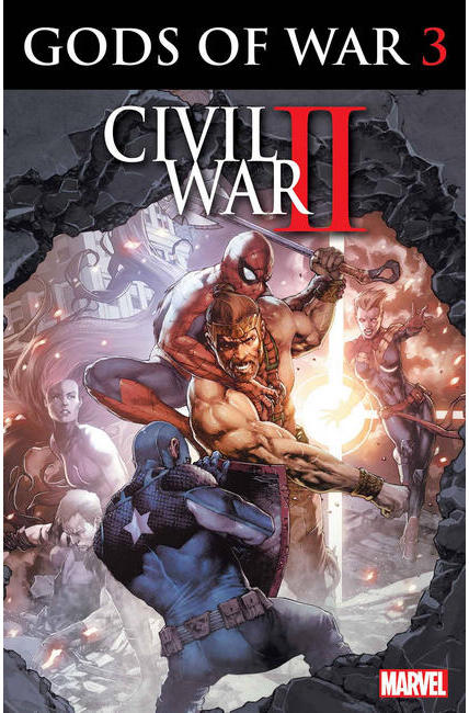 Civil War II Gods of War #3 [Marvel Comic] LARGE