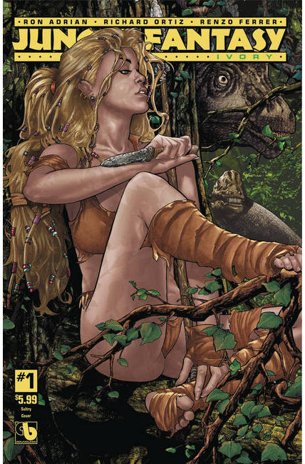 Jungle Fantasy Ivory #1 Sultry Cover [Boundless Comic] LARGE