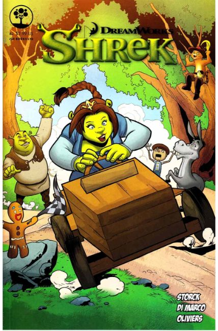 Dreamworks Shrek #4 [Joe Books Comic] LARGE