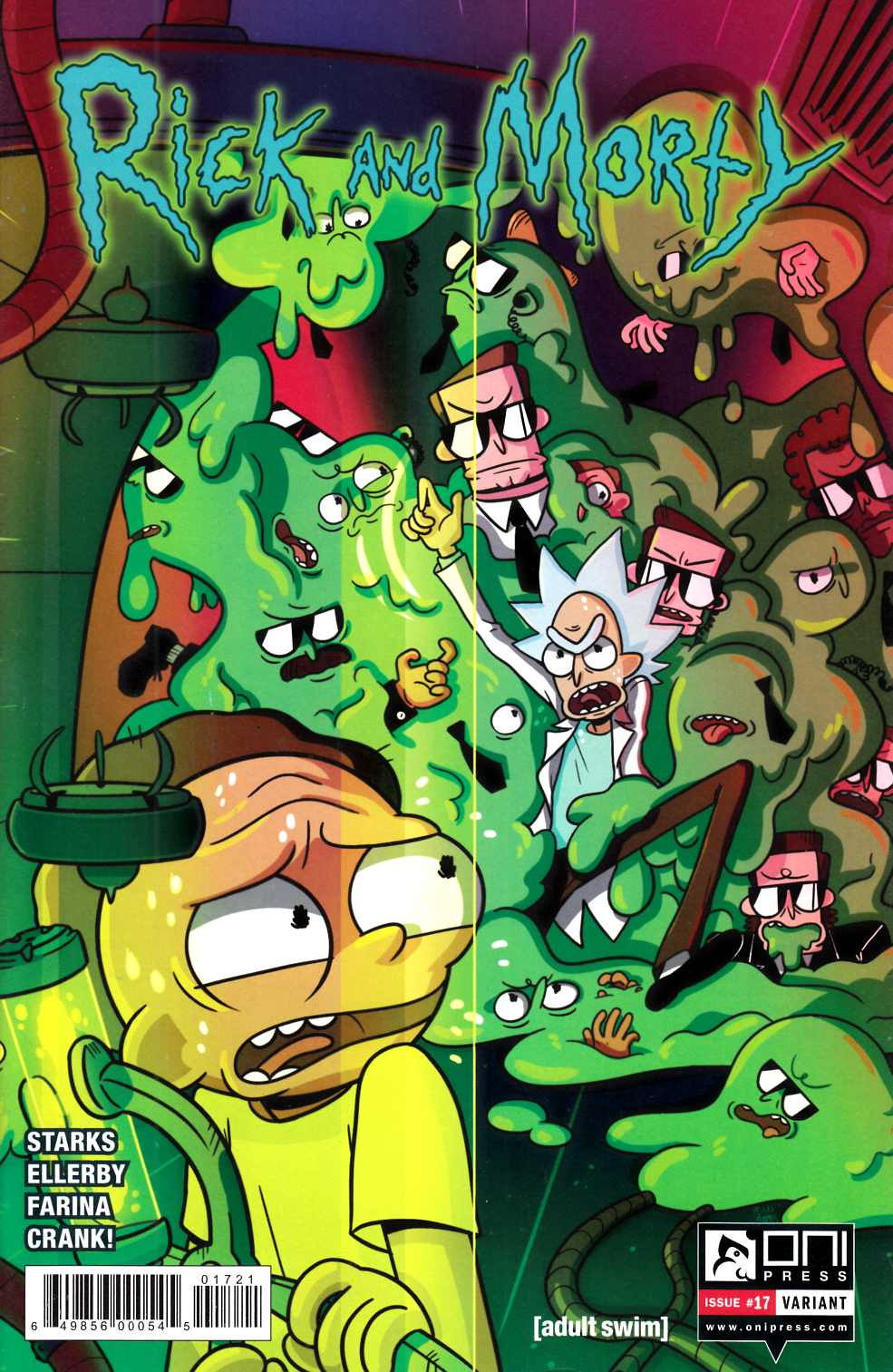 Rick & Morty #17 Sygh Variant Cover [Oni Press Comic]