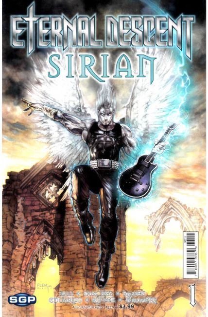 Eternal Descent Sirian One Shot [Space Goat Comic] LARGE