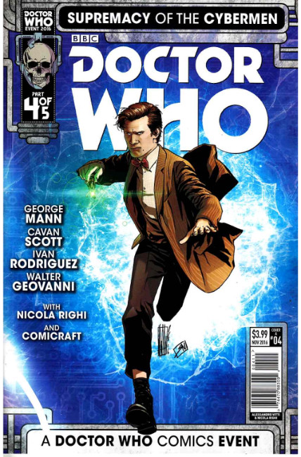 Doctor Who Supremacy of the Cybermen #4 Cover A [Titan Comic] THUMBNAIL