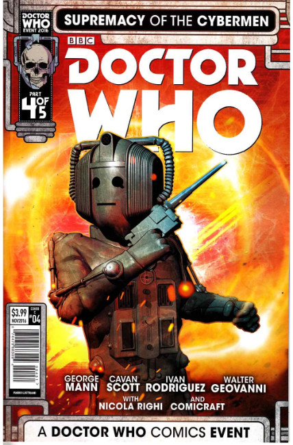 Doctor Who Supremacy of the Cybermen #4 Cover C [Titan Comic] THUMBNAIL