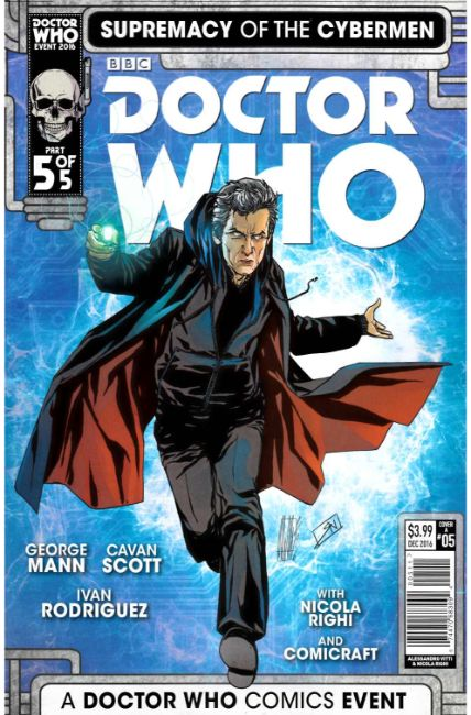 Doctor Who Supremacy of the Cybermen #5 Cover A [Titan Comic] LARGE