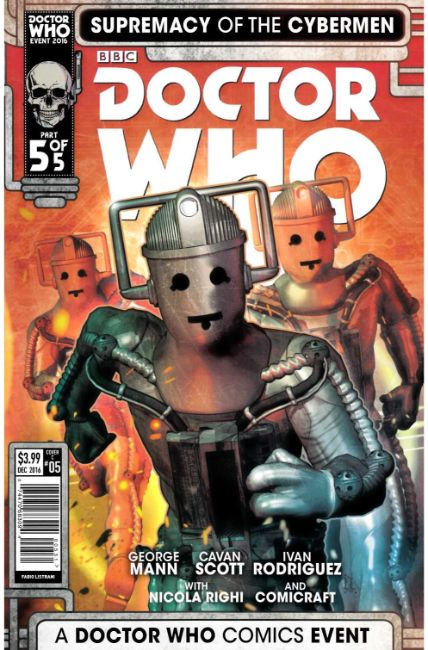 Doctor Who Supremacy of the Cybermen #5 Cover C [Titan Comic] THUMBNAIL