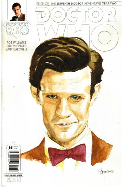 Doctor Who 11th Doctor Year Two #14 Cover C [Titan Comic] LARGE