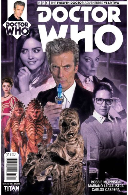 Doctor Who 12th Doctor Year Two #11 Cover B [Titan Comic] THUMBNAIL