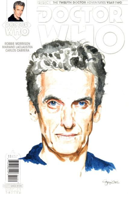 Doctor Who 12th Doctor Year Two #11 Cover C [Titan Comic] THUMBNAIL