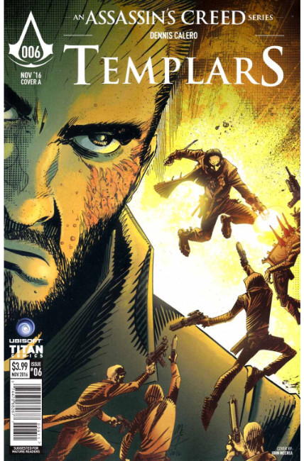 Assassins Creed Templars #6 Cover A [Titan Comic] THUMBNAIL
