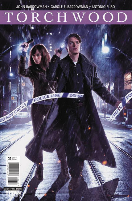 Torchwood #2 Cover B [Titan Comic] THUMBNAIL