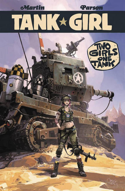 Tank Girl 2 Girls 1 Tank #4 Cover B [Titan Comic]