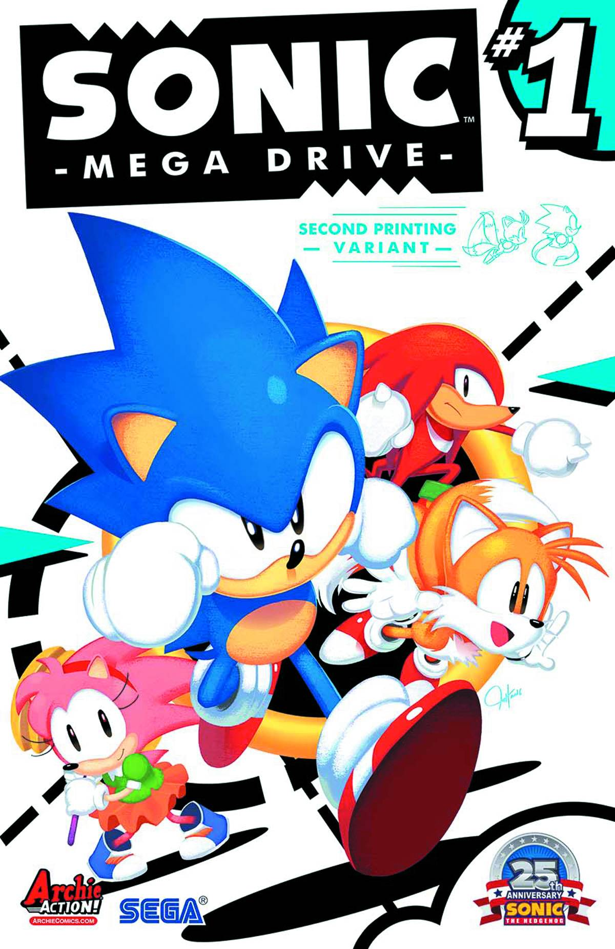 Sonic Mega Drive (One Shot) Second Printing [Archie Comic]