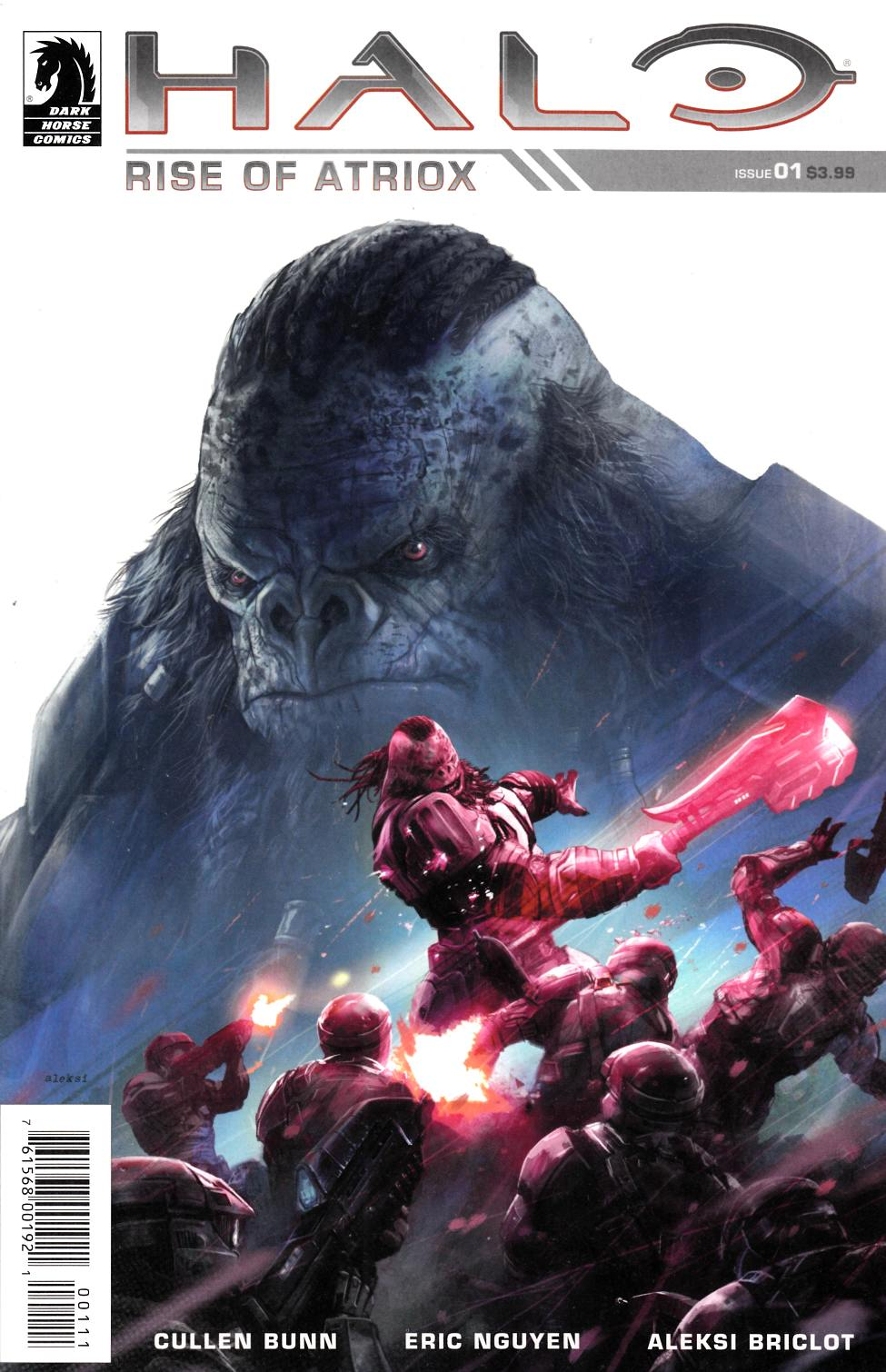 Halo Rise of Atriox #1 [Dark Horse Comic] LARGE