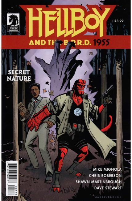 Hellboy and the BPRD 1955 Secret Nature One Shot [Dark Horse Comic] THUMBNAIL