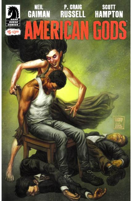 Neil Gaiman American Gods Shadows #6 [Dark Horse Comic] THUMBNAIL