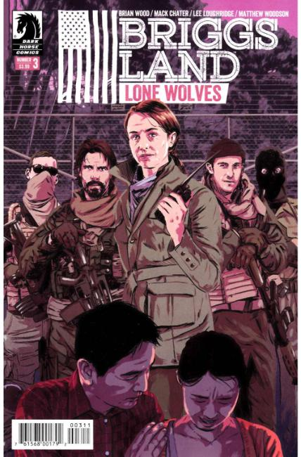 Briggs Land Lone Wolves #3 [Dark Horse Comic] THUMBNAIL