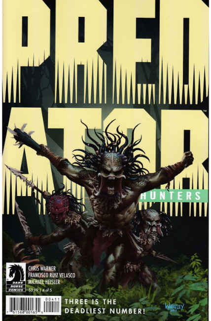 Predator Hunters #4 [Dark Horse Comic] THUMBNAIL