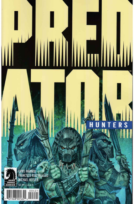 Predator Hunters #4 Velasco Variant Cover [Dark Horse Comic] THUMBNAIL