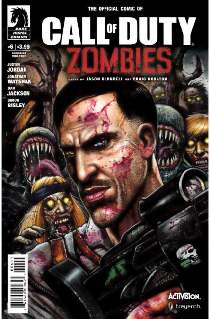 Call of Duty Zombies #6 [Dark Horse Comic] THUMBNAIL